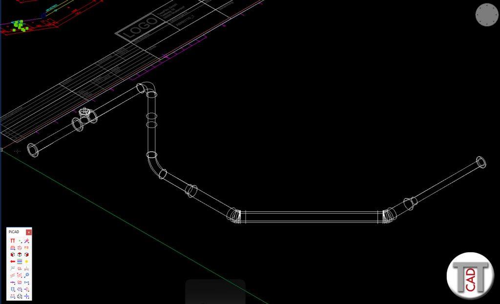 3D Rohrleitung aus Isometrie erstellen (Kollisionspruefung)